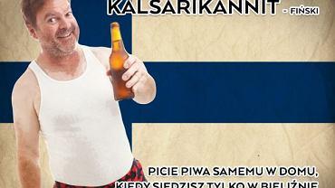 W języku fińskim znajdziecie określenie na wszystko, co dotyczy alkoholu