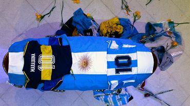 Zażądał ekshumacji ciała Diego Maradony.