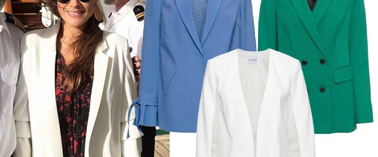 Już niedługo będziemy je nosiły zamiast kurtek. Najładniejsze żakiety z nowych kolekcji. Biały w stylu Curuś to must have