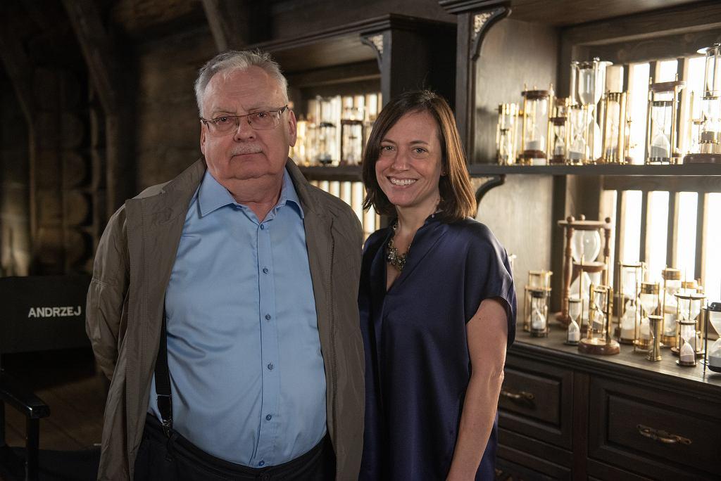 Andrzej Sapkowski i Lauren Hissrich