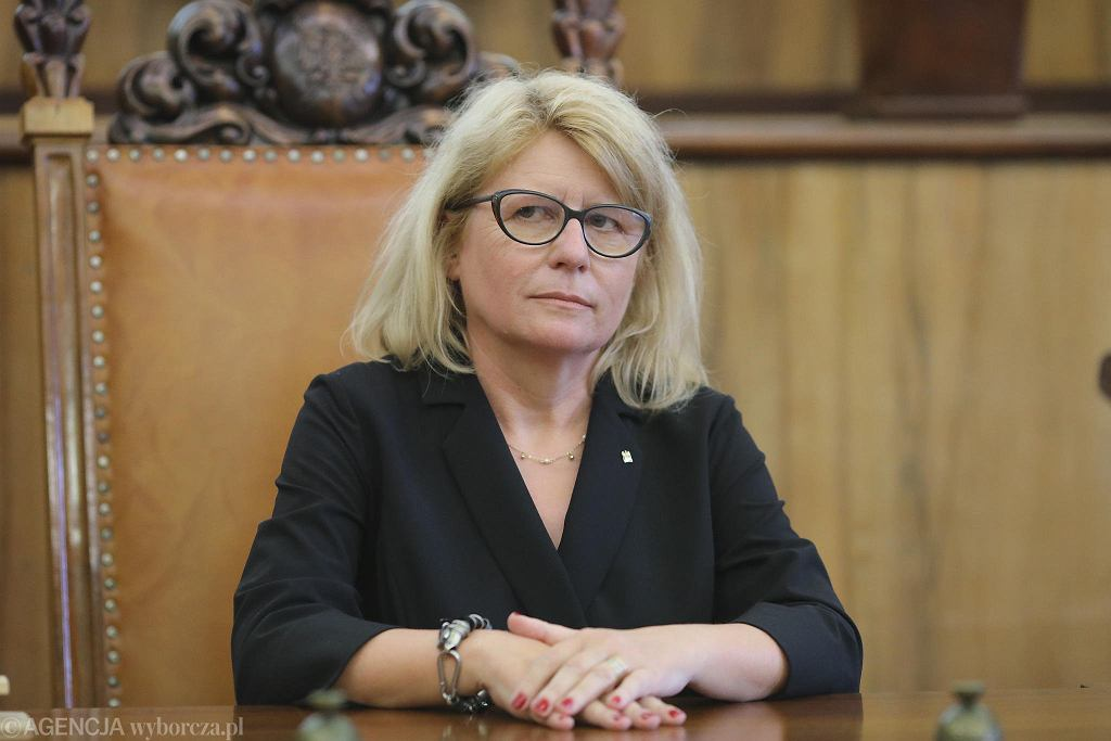 Rektorka UAM prof. Bogumiła Kaniewska.