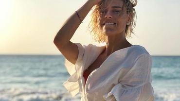 Natasza Urbańska kusi seksownym ciałem na wakacjach. Fani: 'Jak lamparcica'
