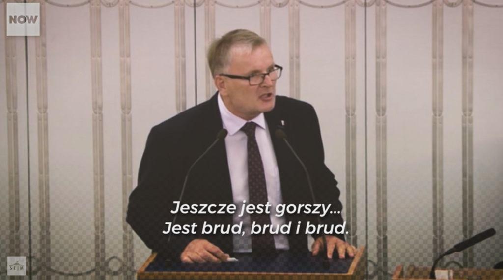 Poseł PiS w rasistowskim wystąpieniu