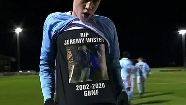 Koledzy z Manchesteru City wspominają zmarłego Jeremy'ego Wistena