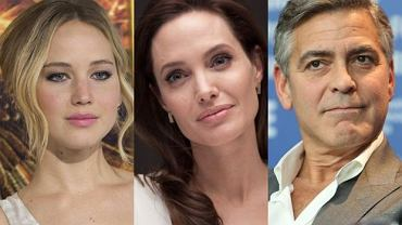 Jennifer Lawrence, Angelina Jolie, George Clooney
