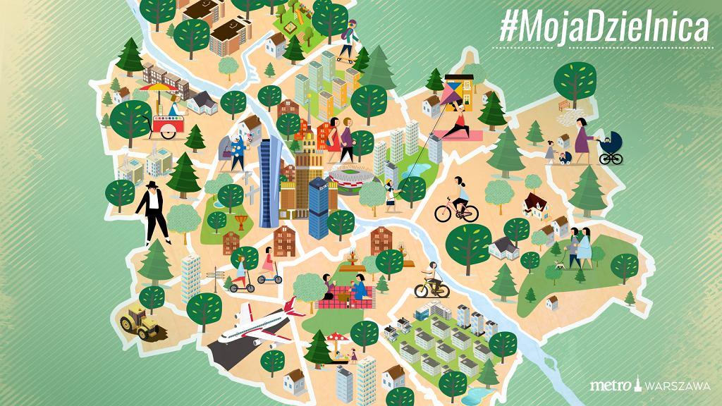Nowy cykl w Metrowarszawa.pl - #MojaDzielnica