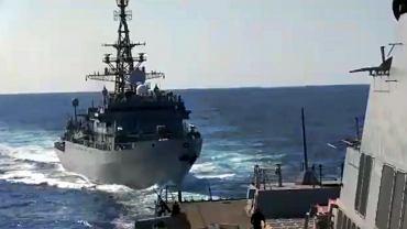 Rosyjski okręt niebezpiecznie zbliżył się do amerykańskiego niszczyciela