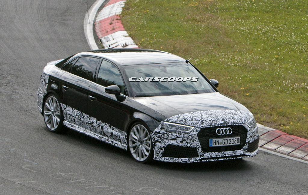 Prototyp Audi RS3 Sedan