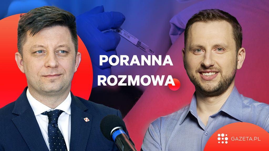 Michał Dworczyk w Porannej Rozmowie Gazeta.pl