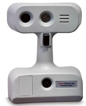 komputery, akcesoria komputerowe, testy, Drukowanie 3D: testujemy najnowsze technologie, Skaner ręczny Artec MH, cena: 10 200 euro
