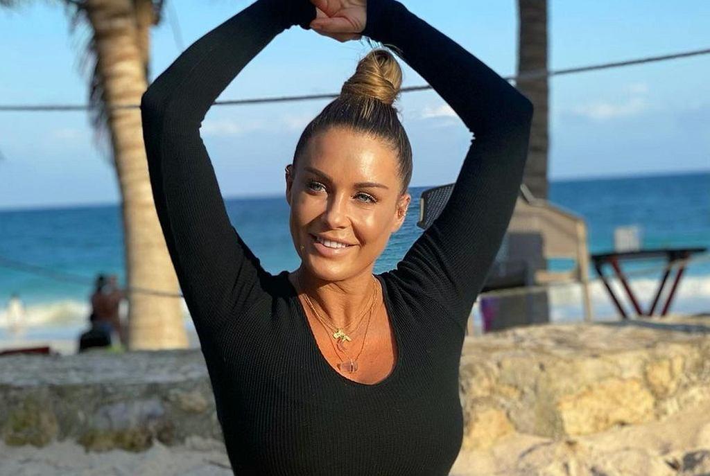 Małgorzata Rozenek odsłoniła płaski brzuch