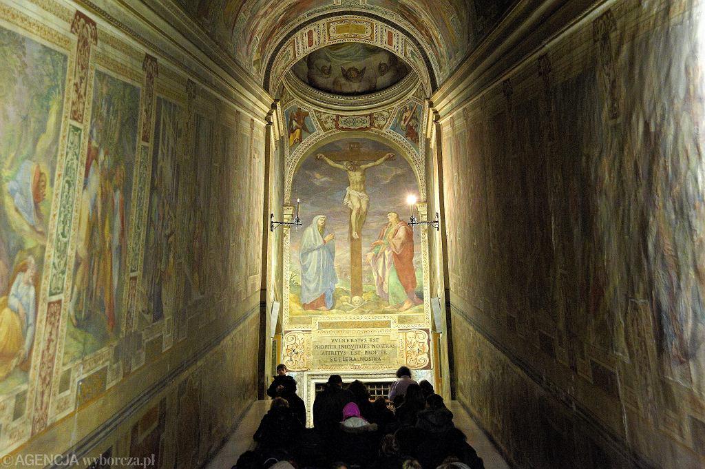 Rzym. Święte Schody zostaną odsłonięte po raz pierwszy od 300 lat