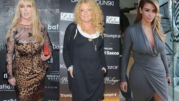 Kim Kardashian, Magda Gessler, Maryla Rodowicz.