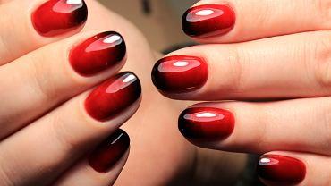 Paznokcie ombre to cieniowana metoda stylizacji paznokci.