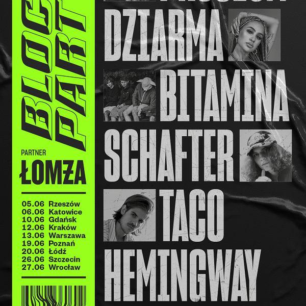 Bilety na Block Party x Łomża już dostępne