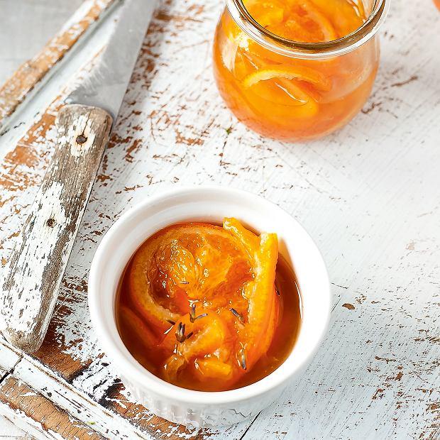 Konfitura pomarańczowo-lawendowa