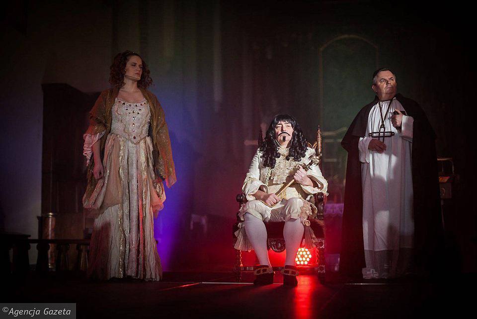 Król Jan Kazimierze w Opolu - inscenizacja