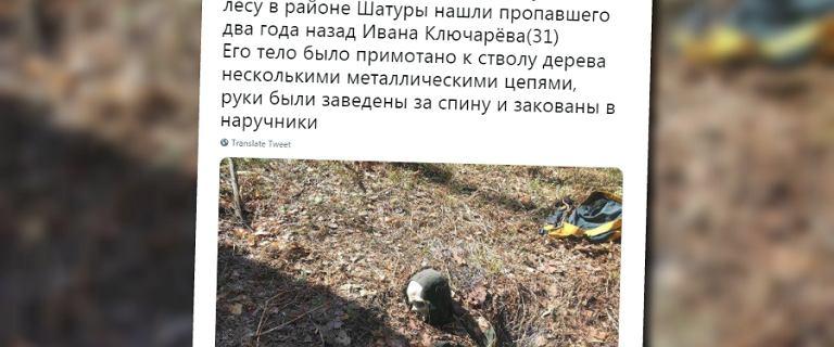 Rosja: Znaleziono przykuty do drzewa szkielet zaginionego podróżnika
