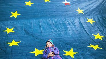 Manifestacja 'Kocham Cię, Europo!'. Lublin 25.03.2017