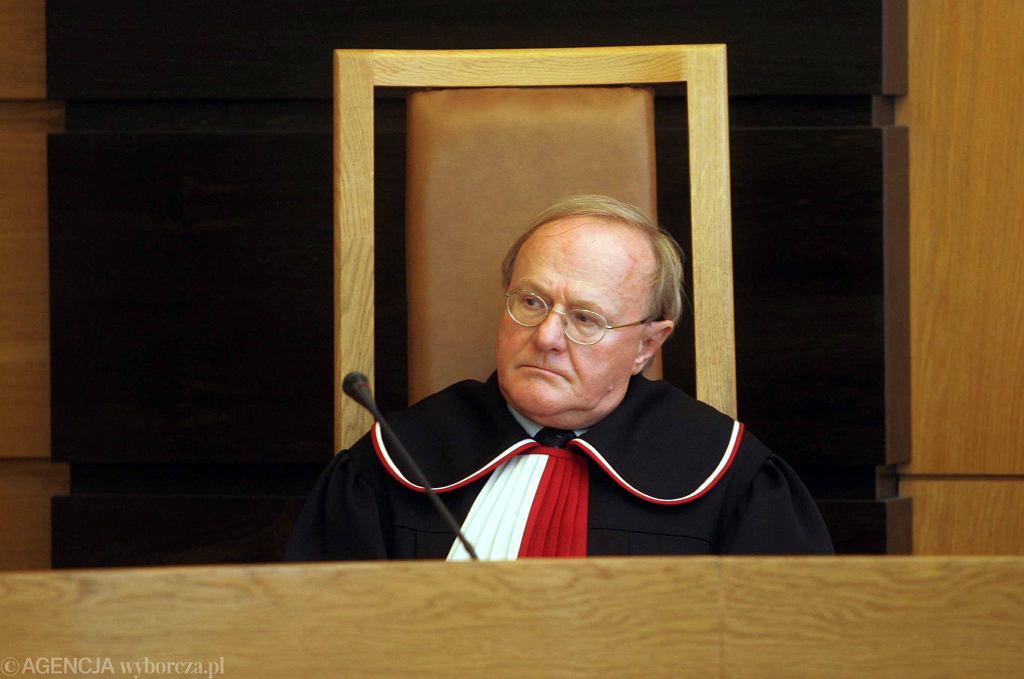 Sędzia TK Stanisław Biernat