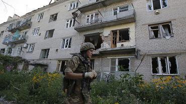 Donieck, strefa ukraińskiej operacji antyterrorystycznej ATO