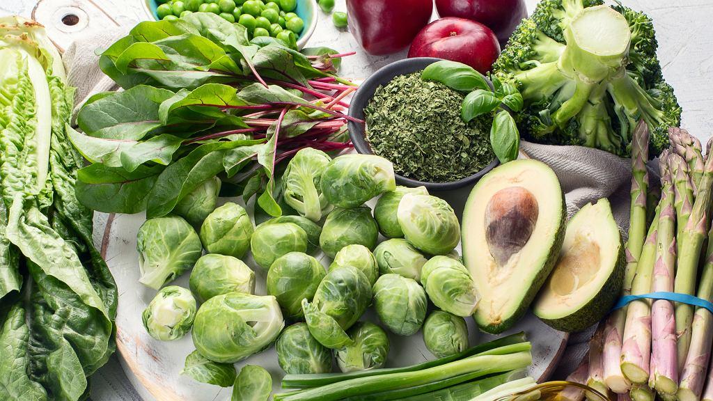 Warzywa bogate w witaminę K
