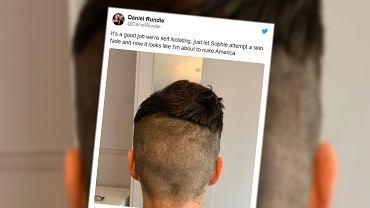 Coronacut - nowy trend w sieci. Mężczyźni pokazują, jak sobie radzą bez fryzjera. 'Moja nowa fryzura wygląda dobrze z przodu'