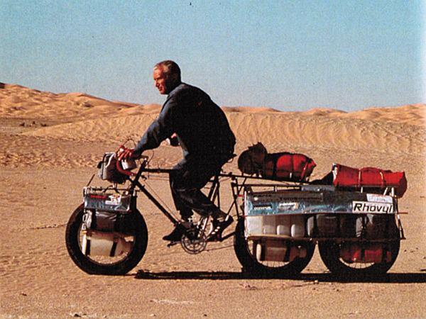 Jeden z pierwszych fatbike'ów konstrukcji Jean Nauda