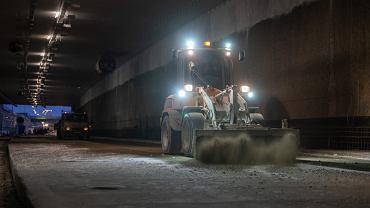 Tunel pod Ursynowem POW - stan na 15 marca 2021