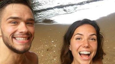 Adam Niedźwiedź i Joanna Jóźwik w Portugalii