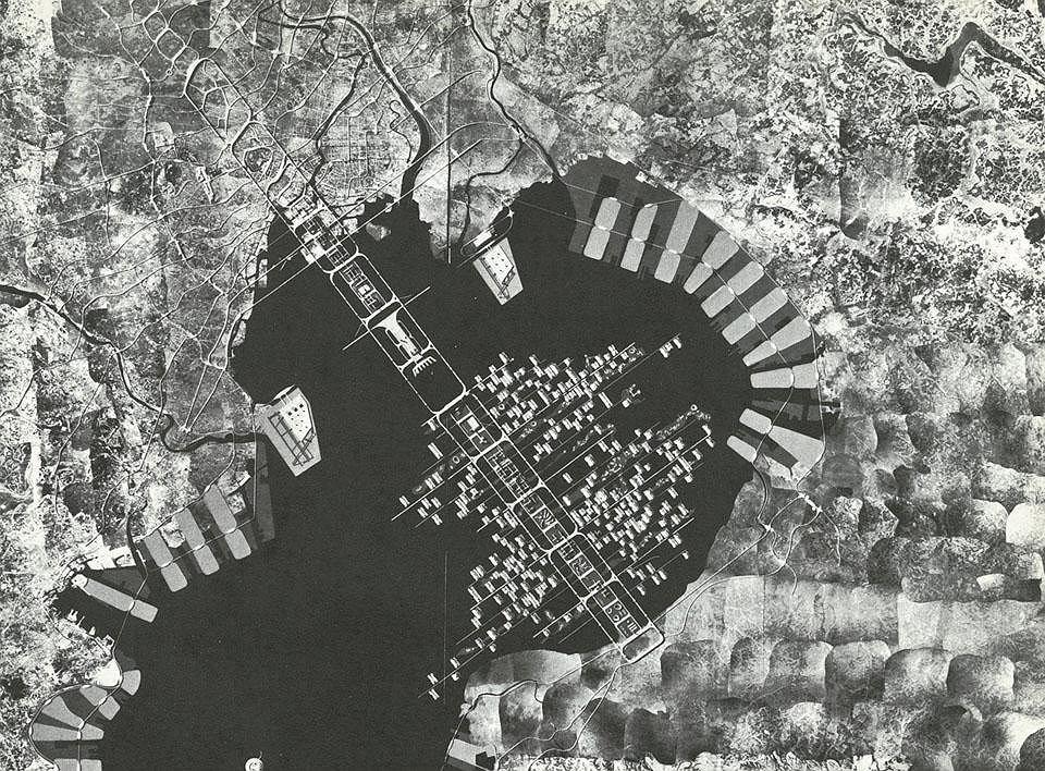 Tange Kenzo, A Plan for Tokyo 19601961