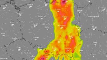 Gwałtowne burze pojawią się w ciągu dnia prawie w całym kraju
