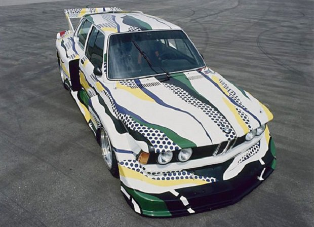 BMW 320i Art Car