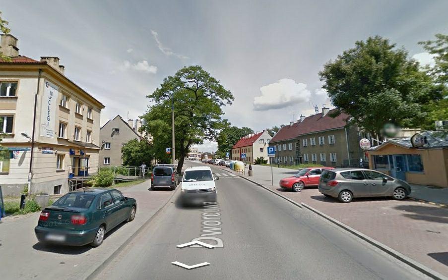 Ulica Dworcowa w Krakowie