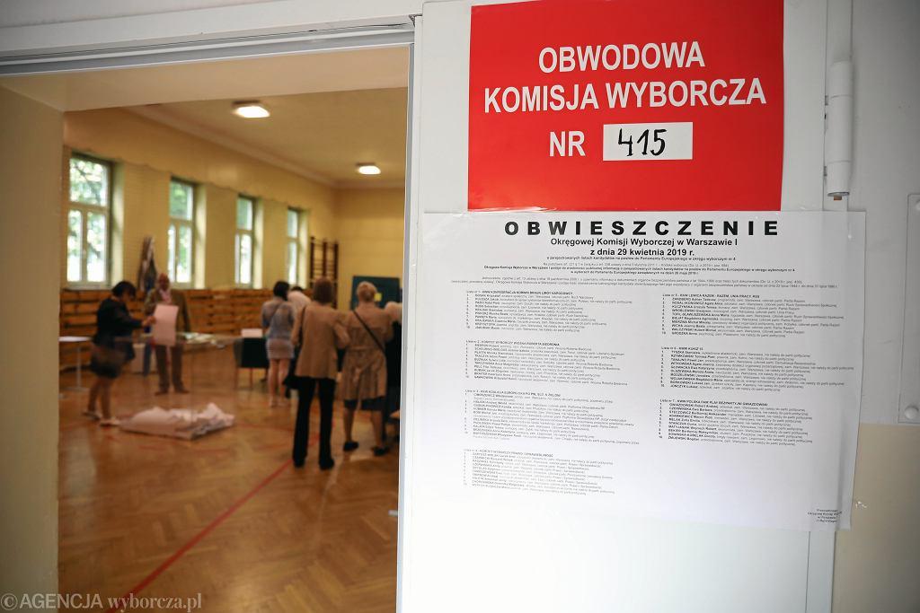 Wyniki wyborów do Europarlamentu 2019. Kto wygrał w Warszawie? [Okręg nr 4]