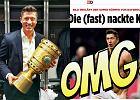 """Półnagi Robert Lewandowski rozpalił internet. Niemieckie media: """"Co za ciało! """""""