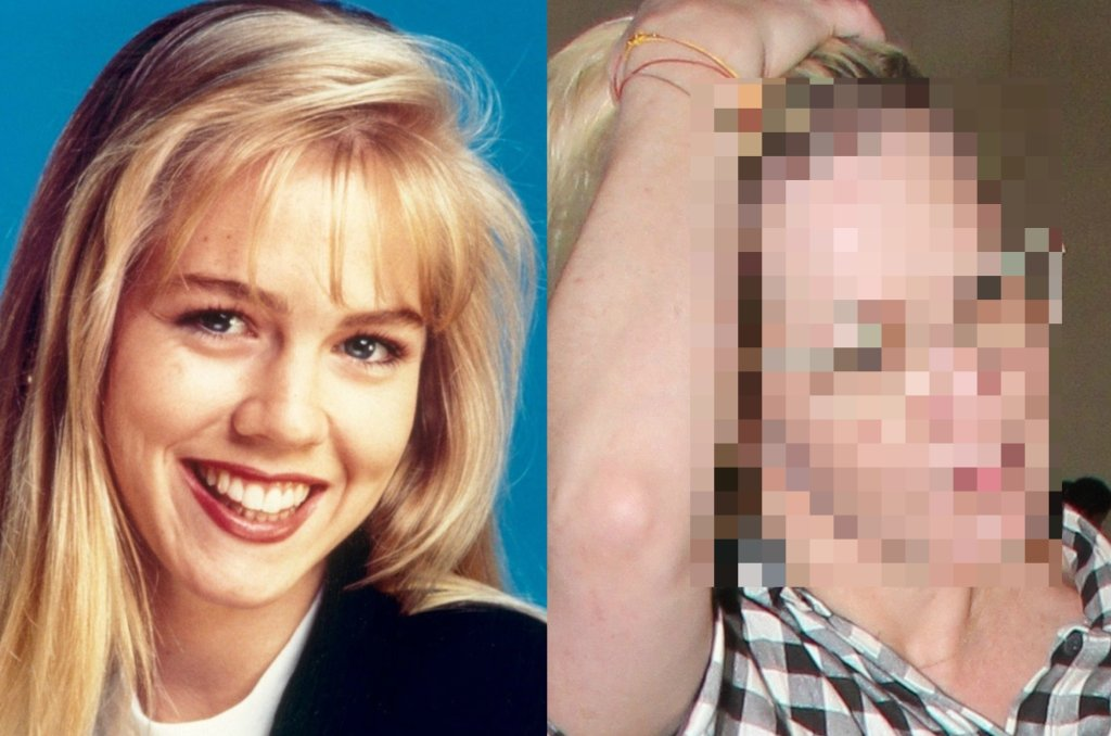 Paparazzi uwiecznili na zdjęciach Jennie Garth czyli Kelly Taylor kultowego serialu