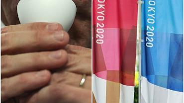 Test ślinowy na covid - możliwe, że taki sposób badania olimpijczyków będzie obowiązywał na igrzyskach w Tokio