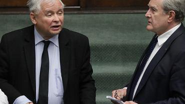 Jarosław Kaczyński do posłów opozycji: Hołota chamska.