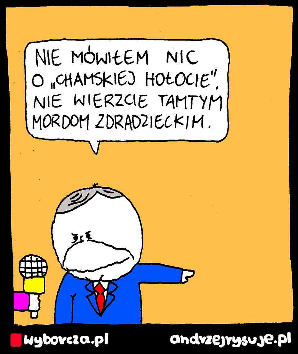 Andrzej Rysuje | HOŁOTA - Andrzej Rysuje | 6 czerwca 2020 - null