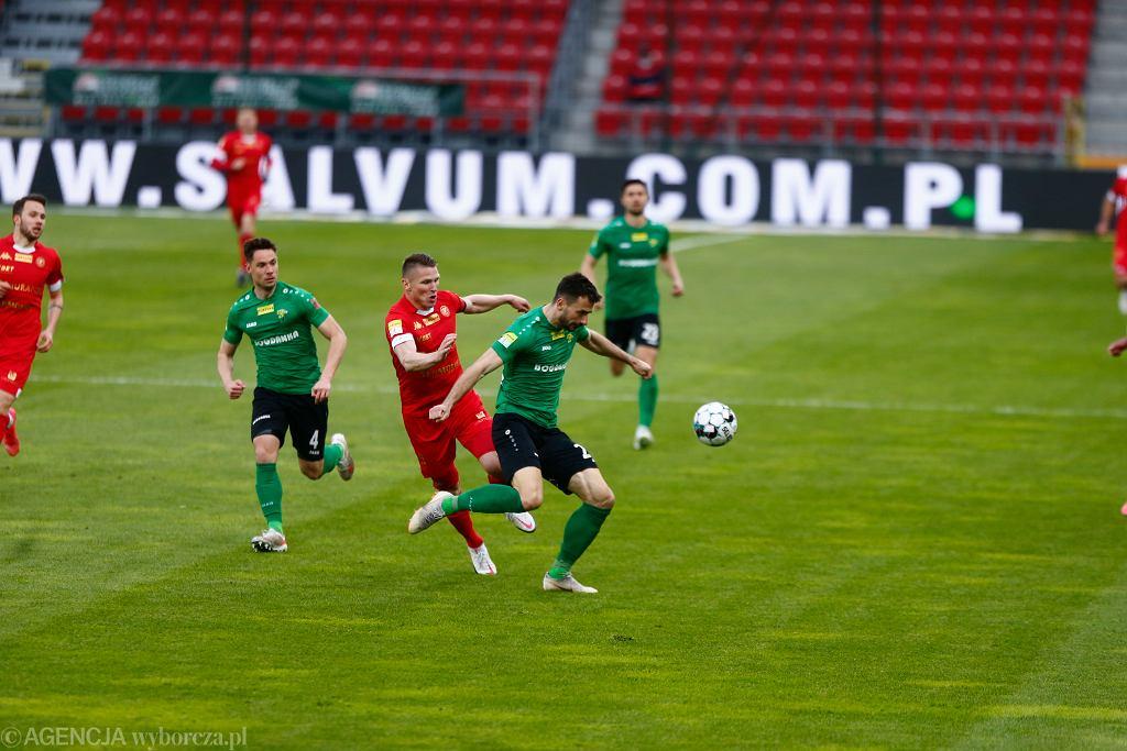 Mecz Widzew Łódź - Górnik Łęczna (2)