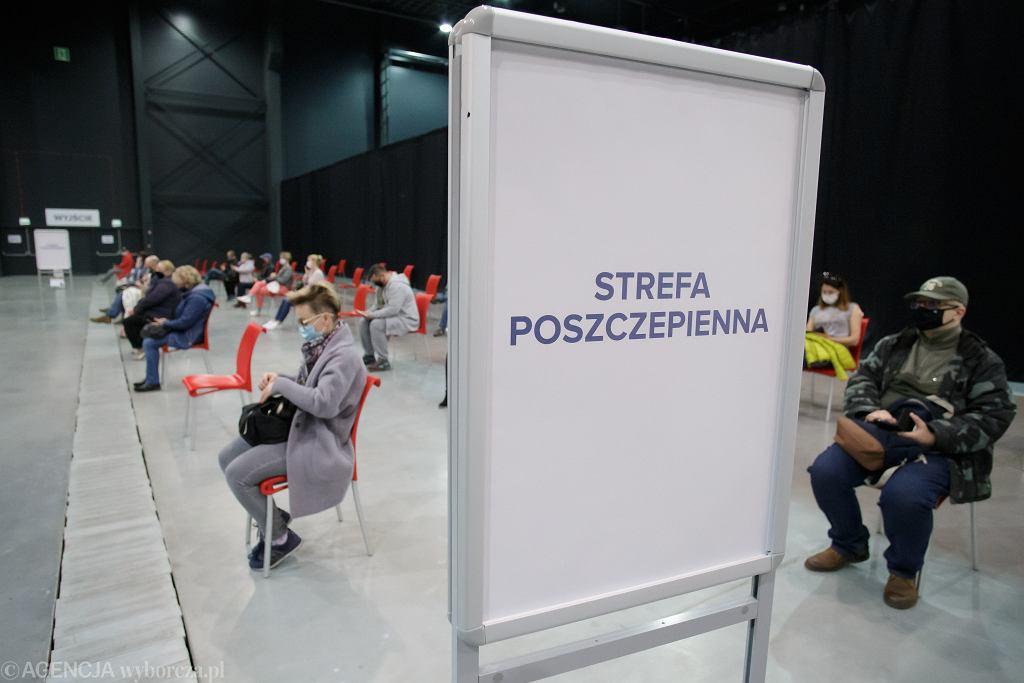 Punk szczepien w BCTW w w Bydgoszczy