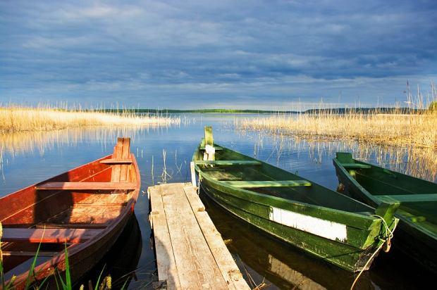 Wigierski Park Narodowy zmnóstwem jezior ilasami.