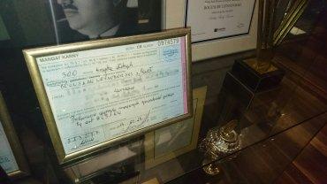 Mandat prezesa Bogusława Leśnodorskiego w klubowym muzeum