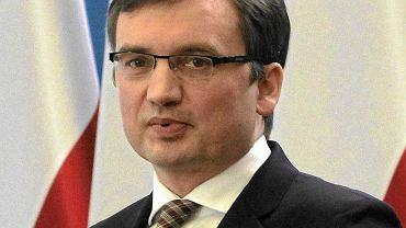 Zbigniew Ziobro, minister sprawiedliwości
