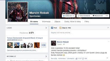 Marcin Robak Facebook