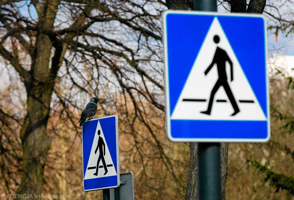 Znak przejścia dla pieszych