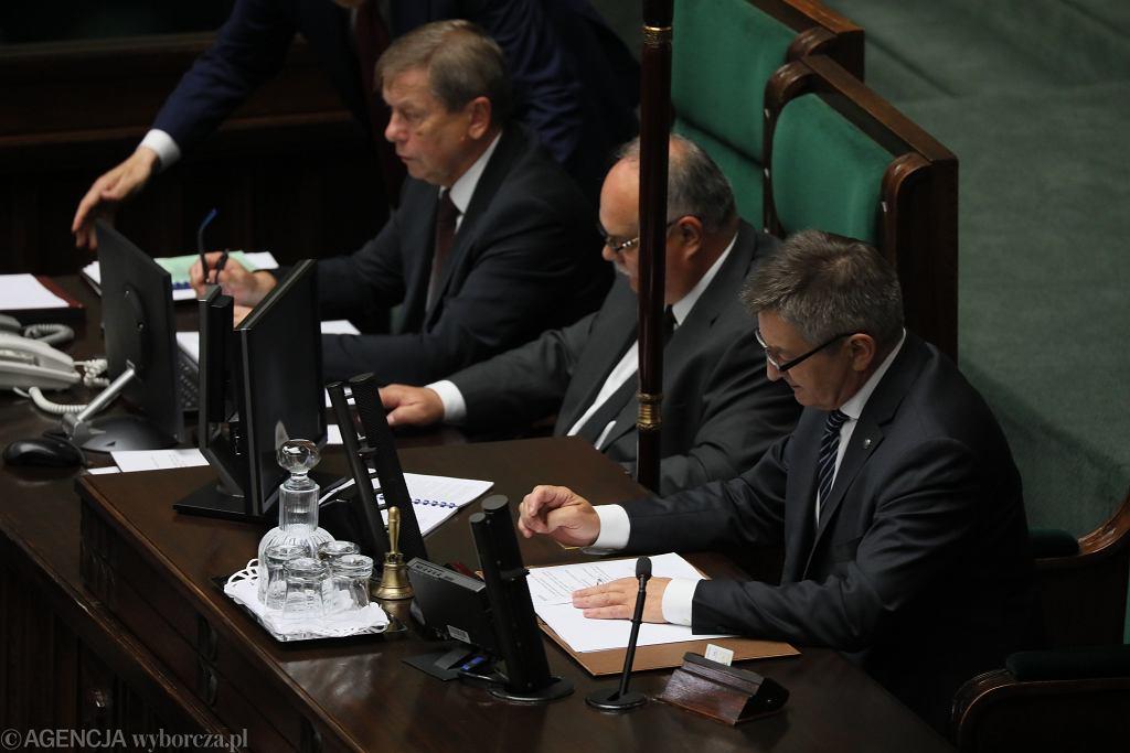 Marszałek Marek Kuchciński. 85. posiedzenie Sejmu VIII kadencji, Warszawa, 31 lipca 2019 r.
