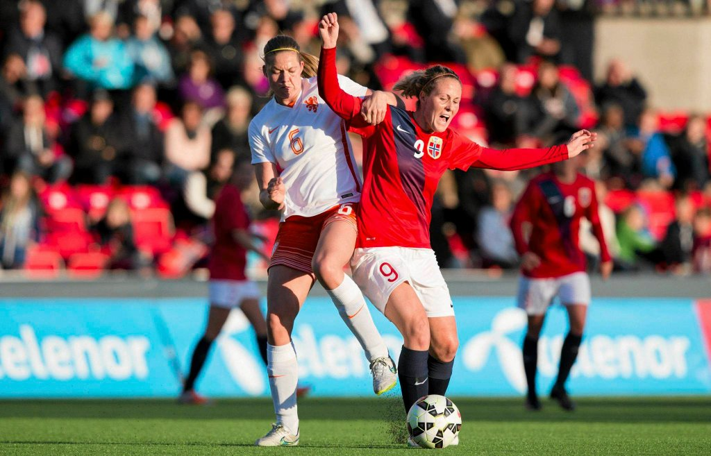 Mecz Norwegia - Holandia w el. ME U-19 kobiet