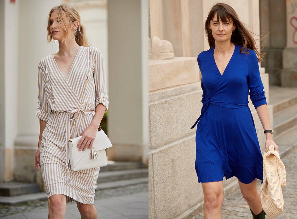 Sukienki RISK z dłuższym rękawkiem